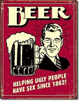 BEER..UGLY PEOPLE-TS